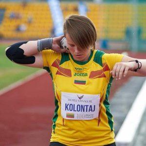 Valerija Kolontaj. Vilnius, Lietuva.